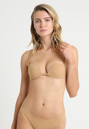 PADDED WITHOUT WIRE COP - Push-up bra - nude