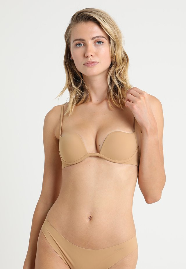 PADDED WITHOUT WIRE COP - Push up -rintaliivit - nude