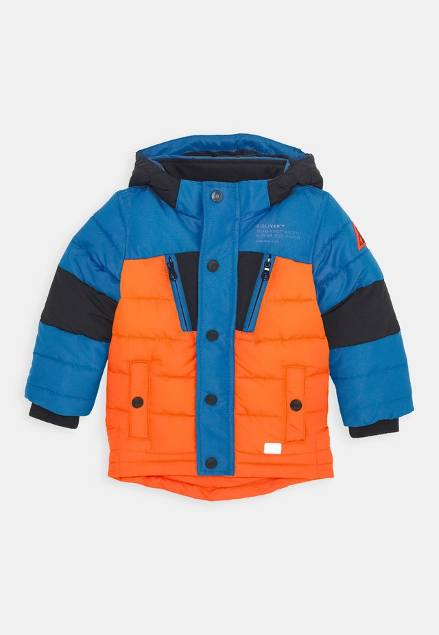 Vinterjakke - orange