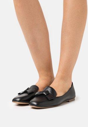 LEMONNIER - Nazouvací boty - black