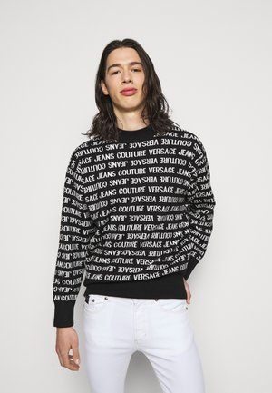 FILATO MIXED LETTERING  - Jumper - black