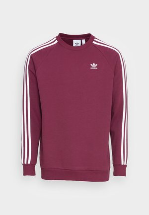 3-STRIPES CREW ORIGINALS ADICOLOR PULLOVER SWEATSHIRT - Sweatshirt - victory crimson