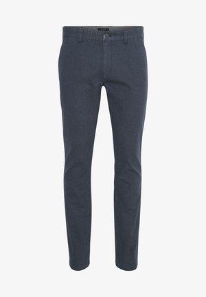 Trousers - dark grey melange