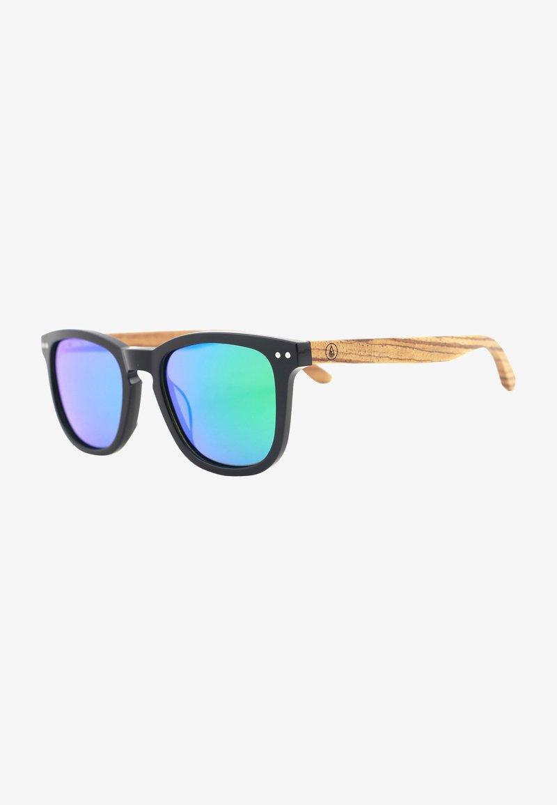 WAVE HAWAII - Sunglasses - schwarz-grün