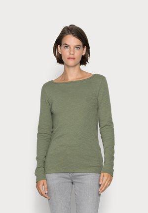 EVERYDAY BOATNECK - Long sleeved top - desert cactus