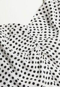 Violeta by Mango - URSULA - Blouse - white black - 5