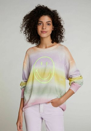 Jumper - white yellow/or