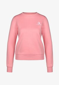 Converse - STAR CHEVRON - Sweatshirts - costal pink - 0