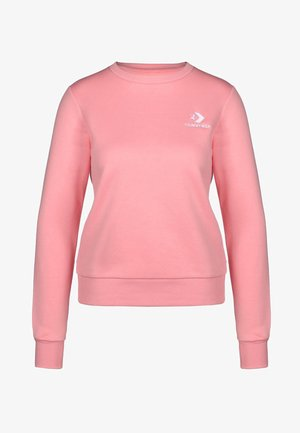 STAR CHEVRON - Sweatshirt - costal pink