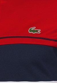 Lacoste Sport - TENNIS JACKET - Training jacket - ruby/white/navy blue/white - 7