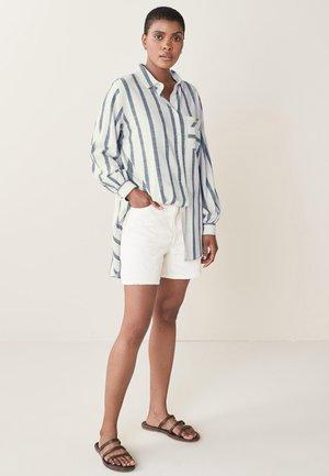 Button-down blouse - off-white