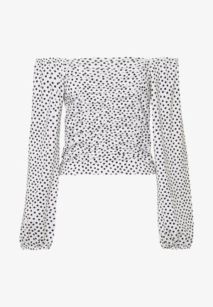 YASMAISE - Blouse - star white/black