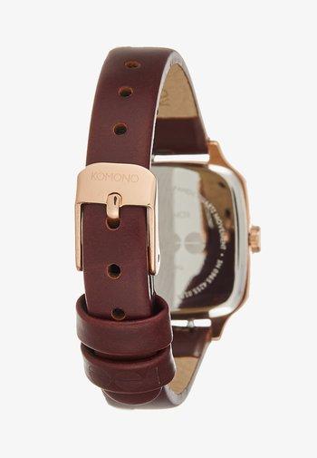 KATE - Watch - rose gold/auburn