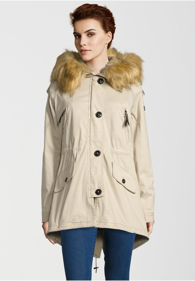 GSTAAD 316 - Parka - feather beige