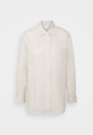 Button-down blouse - nature