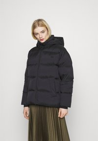 adidas Originals - WINTER LOOSE JACKET - Down jacket - black - 0