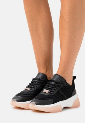STATEMENT LACE UP FLEXY  - Trainers - black/white