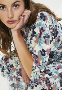 Soaked in Luxury - Day dress - vivid floral print white - 4