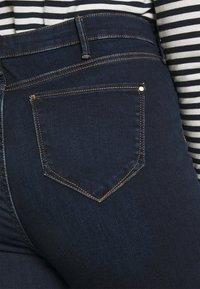 River Island Plus - Jeans Skinny Fit - dark auth - 3