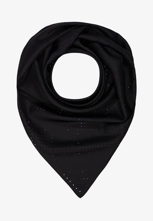 KARL X CARINE PERFORATED SCARF - Foulard - black
