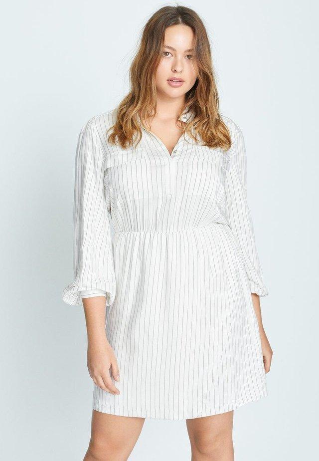 LINEAS-I - Shirt dress - cremeweiß