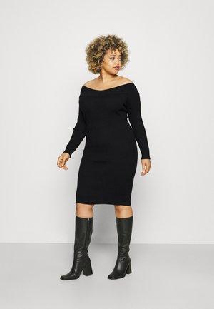 VMWILLOW DRESS - Sukienka dzianinowa - black