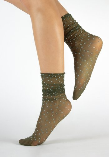 5 PACK - Socks - olive green