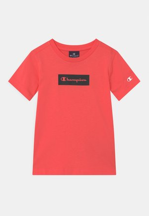 AMERICAN PASTELS CREWNECK UNISEX - T-shirt con stampa - coral
