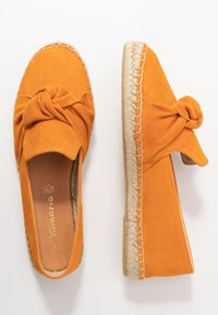 Tamaris - SLIP-ON - Loafers - orange - 3