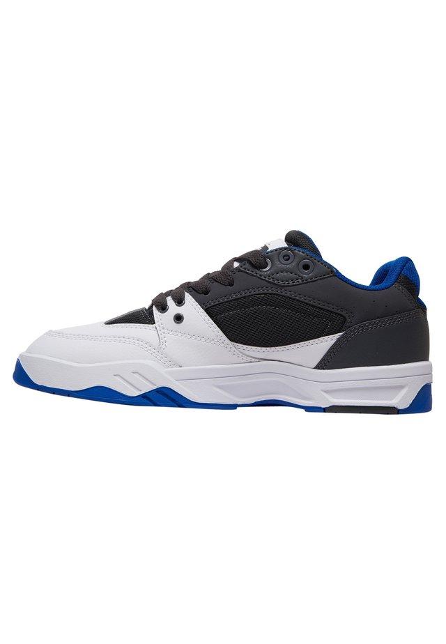 Sneakers laag - black/white/blue