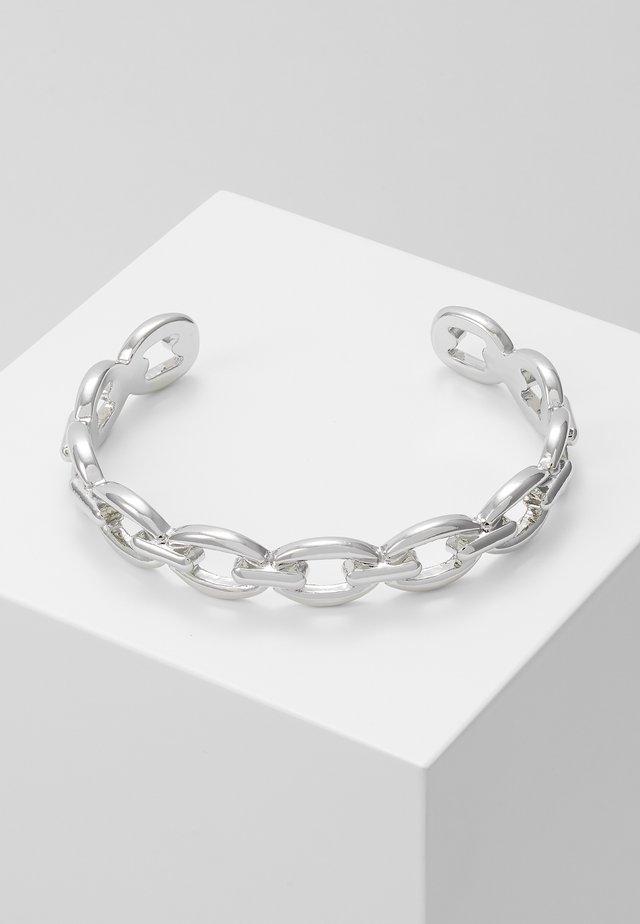 LINK CUFF - Pulsera - silver-coloured