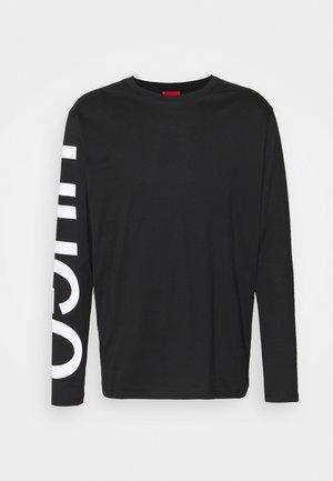 DEMEOS - Maglietta a manica lunga - black