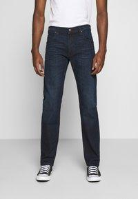 Lee - DAREN ZIP FLY - Jeans a sigaretta - dark tonal park - 0