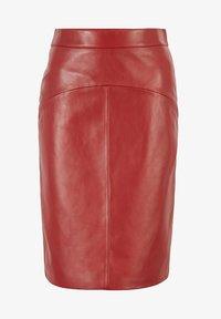 BOSS - Pencil skirt - dark red - 4