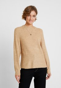 GAP - DRAMA  - Sweter - camel heather - 0