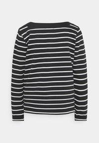 Esprit - STRIPED - Sweatshirt - black - 1