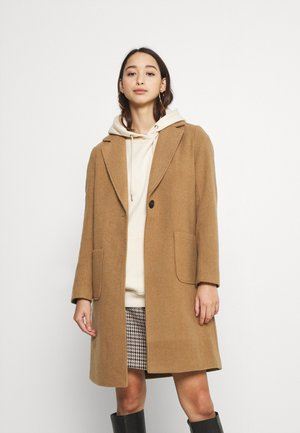 ASTRID WOOL  - Classic coat - toasted coconut