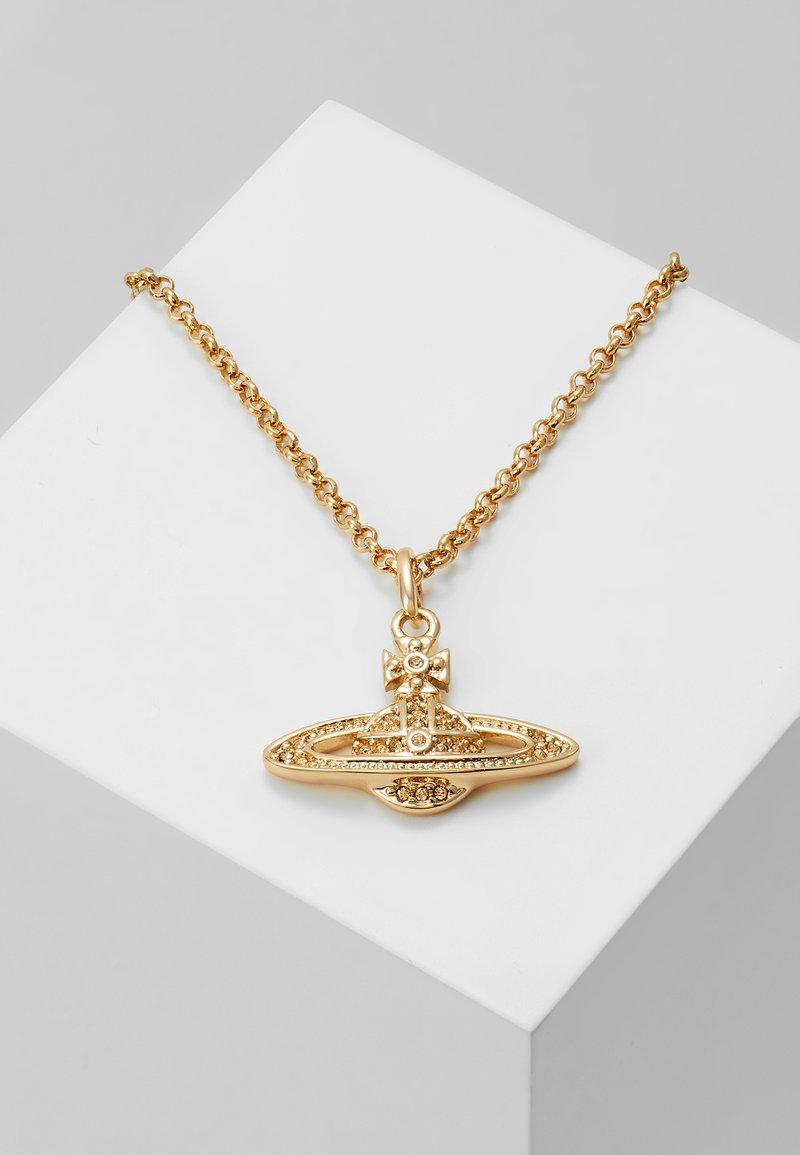 Vivienne Westwood - MINI BAS RELIEF PENDANT - Necklace - light colorado gold-coloured