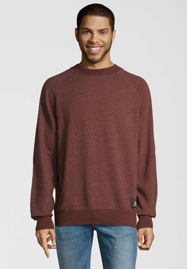Sweatshirt - rostbraun