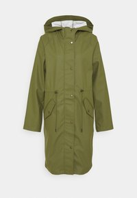 ONLY Tall - ONLRIE RAINCOAT - Waterproof jacket - capulet olive - 0