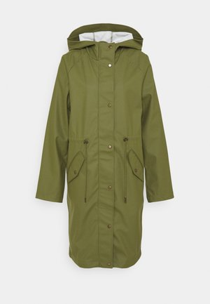 ONLRIE RAINCOAT - Waterproof jacket - capulet olive