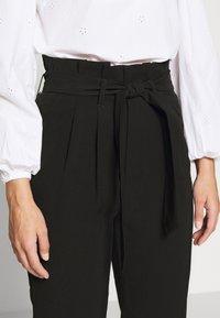 ONLY Petite - ONLSURI AINA PANTS - Kalhoty - black - 4