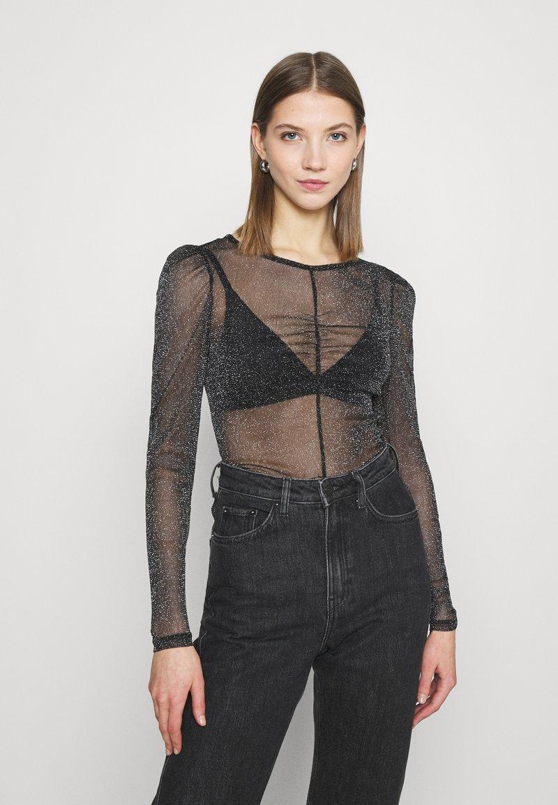 Monki - SILJA - Long sleeved top - black