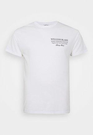 WILLIAM BLAKE ART PRINT TEE - Camiseta estampada - white