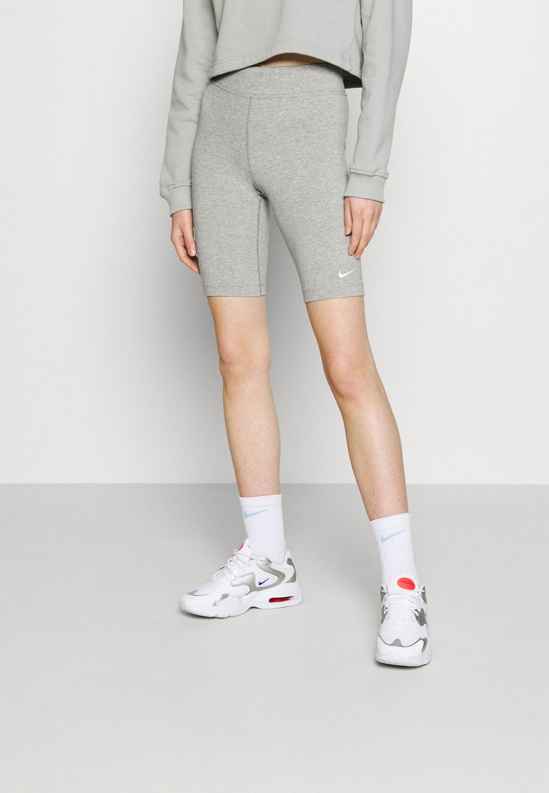 Nike Sportswear - BIKE  - Shorts - grey heather/white