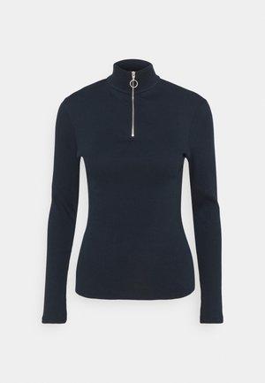 LONGSLEEVE WITH ZIPPER SPECIAL COLLAR - Long sleeved top - scandinavian blue