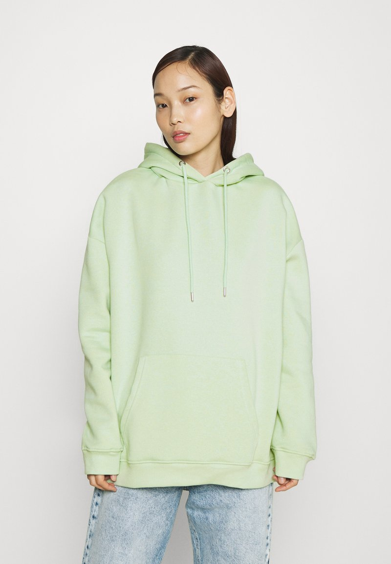 Nly by Nelly - OVERSIZED HOODIE - Hoodie - pistachio