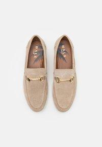 Walk London - STREAM TRIM LOAFER - Chaussures bateau - beige - 3