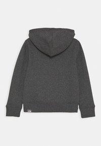 The North Face - DREW PEAK HOODIE UNISEX - Bluza z kapturem - medium grey heather - 1