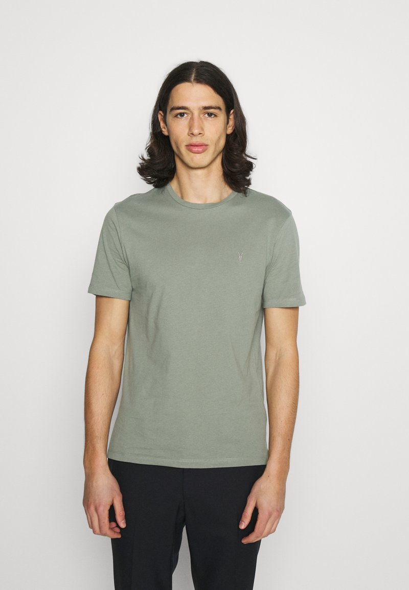 AllSaints - BRACE CREW - Basic T-shirt - agave green